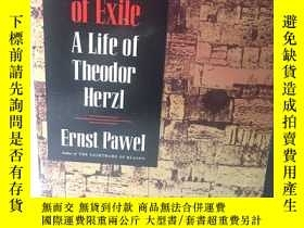 二手書博民逛書店英文原版:The罕見labyrinth of exile A life of theodor HerzlY36