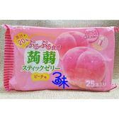 (日本) RIBON 立夢果凍條-白桃味(立夢食感蒟蒻-水蜜桃)1包377.5公克