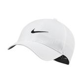 Nike 帽子 Legacy 91 白 黑 高爾夫球帽 遮陽 排汗 可調式設計 運動休閒 【ACS】 BV1076-100
