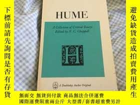 二手書博民逛書店Hume,罕見A Collection of Critical