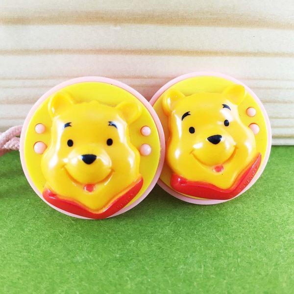 【震撼精品百貨】Winnie the Pooh 小熊維尼~2入髮束-黃