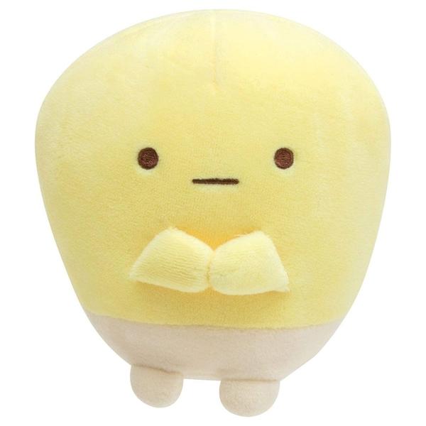 SAN-X 角落生物 玉米濃湯系列 絨毛娃娃 玉米粒 黃_XS77714
