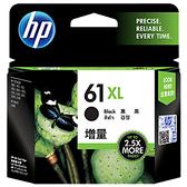 【奇奇文具】惠普HP CH563WA NO.61XL 黑色高容量 原廠墨水匣