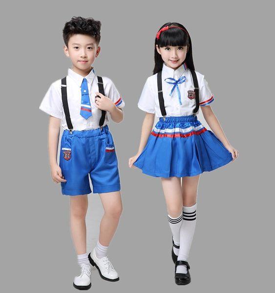 【原創館】兒童演出服 中小學生 合唱服