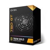 艾維克 EVGA 750 GT 80PLUS 金牌全模組電源供應器