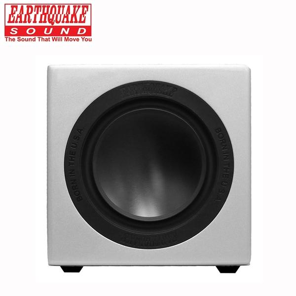 美國大地震 EARTHQUAKE SOUND MiniMe P63 重低音喇叭 (鋼烤銀)