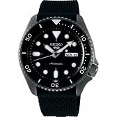 SEIKO 精工 5 Sports 系列機械錶-鍍黑/42.5mm 4R36-07G0K(SRPD65K2)