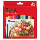 義大文具-Pentel飛龍-CB8-24TH 彩色鉛筆24色/親子同樂/美術教學