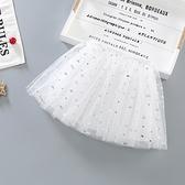 女童短裙 半身裙紗裙2021夏裝新款兒童蓬蓬裙女孩公主裙小童洋氣短裙子【快速出貨】