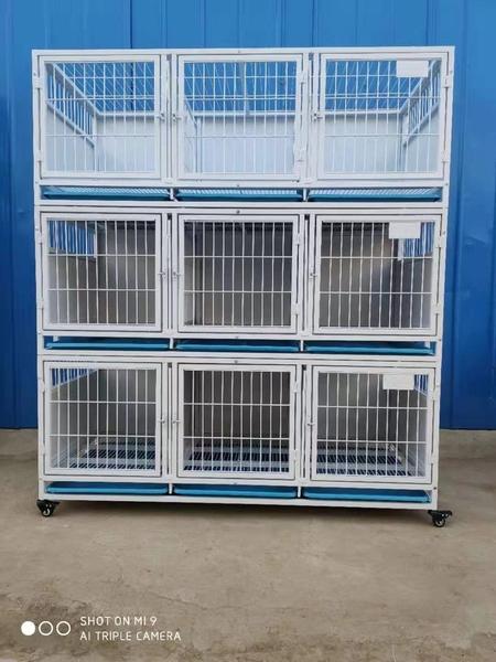 狗籠子 大型犬 中型犬 小型犬 鴿子 寄養繁殖籠具寵物店籠子三層 快速出貨
