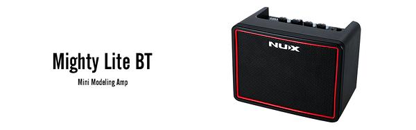 凱傑樂器 NUX Mighty Lite BT 電吉他音箱 內建鼓機節奏 藍芽 公司貨