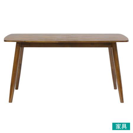 ◎木質餐桌 LONDON 150 MBR NITORI宜得利家居