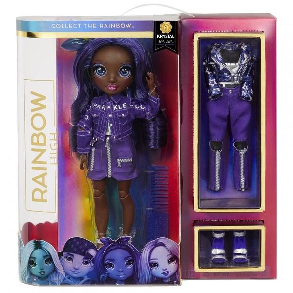 《 Rainbow Surprise 》七彩時尚娃娃-Krystal Bailey / JOYBUS玩具百貨