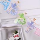 【韓風童品】字母芭蕾女孩可愛造型彩旗 兒童房佈置  節慶派對聚會裝飾拉花 生日裝飾  拍照背景