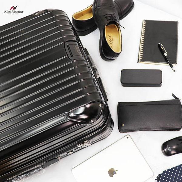 行李箱 旅行箱 28吋 PC金屬護角耐撞擊硬殼 法國奧莉薇閣 箱見恨晚系列-黑色 (加贈防塵套)