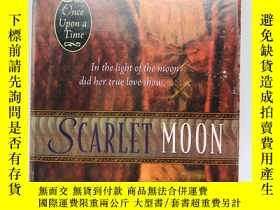 二手書博民逛書店Scarlet罕見Moon (Once upon a Time)