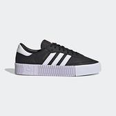 Adidas Sambarose W [EF4968] 女鞋 運動 休閒 經典 增高 厚底 舒適 抗菌 愛迪達 黑白