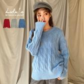 LULUS-Y粗麻花針織上衣-3色  【01190949】