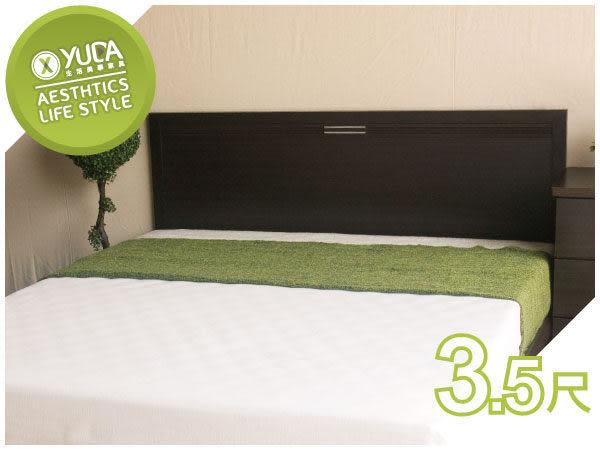 床頭片【YUDA】莉亞 3.5尺單人 床頭片/床頭板 (非床頭箱/床頭櫃) 6色可選 新竹以北免運