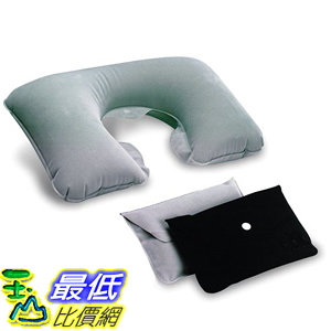 [美國直購] 航空坐飛機用頸枕睡枕枕頭 Lewis N. Clark Original Neckrest Inflatable Pillow