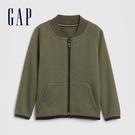 Gap男幼童 時尚帥氣棒球領外套 617786-軍綠色