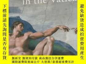 二手書博民逛書店米開朗琪羅和拉斐爾罕見梵蒂岡藝術作品 Michelangelo&