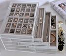 日本壓克力珠寶盒5層木首飾盒041489通販屋