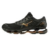 Mizuno Wave Prophecy 9 [J1GC200051] 男 慢跑鞋 運動 避震 吸震 彈性 頂級 黑金