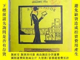 二手書博民逛書店民國書刊《Books罕見of the Month》每月書刊述評 1931年January期 1931年1月 上海出