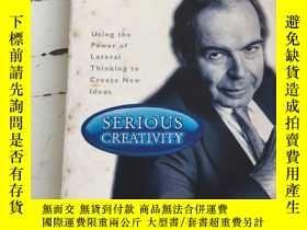 二手書博民逛書店Serious罕見Creativity:Using the Power of Lateral Thinking t