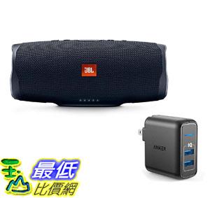 [8美國直購] 音箱 JBL Charge 4 Portable Waterproof Wireless Bluetooth Speaker Bundle with Anker 2-Port