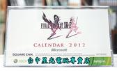 【特典商品】☆ 最終幻想13-2 太空戰士13-2 FF13-2 特典2012桌曆 ☆全新品【特價優惠】台中星光