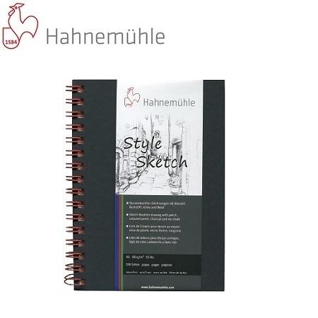 德國Hahnemuhle- Sketch 個性素描本106-284-31 (A5紅線圈/64張) / 本