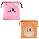【日本正版】星之卡比 棉質 束口袋 收納袋 抽繩束口袋 小物收納 日本製 卡比之星 Kirby 440510 440527