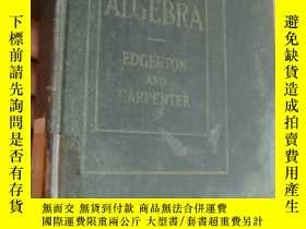 二手書博民逛書店INTERMEDIATE罕見ALGEBRA 《中級代數》 192