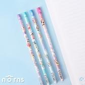 日貨蠟筆小新原木鉛筆 彩虹塗鴉系列- Norns 日本進口 2B HB 鉛筆文具