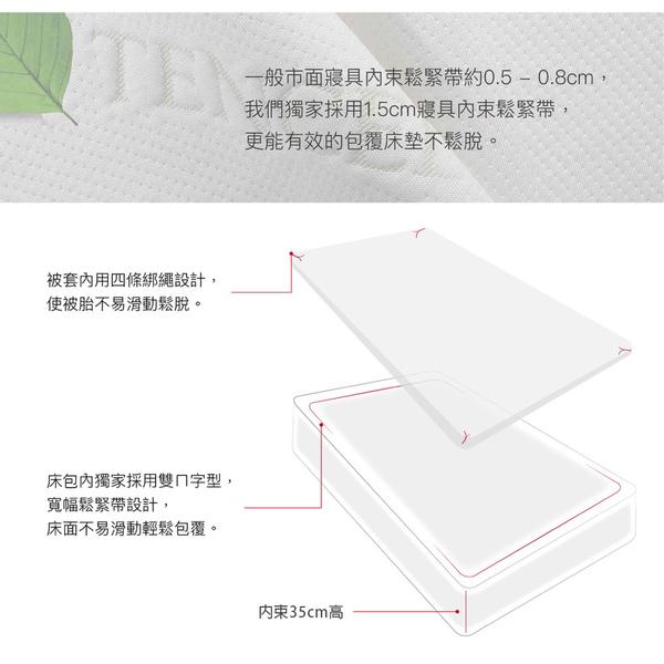 天絲床包兩用被四件組 加大6x6.2尺 頂級天絲 3M吸濕排汗 床高35cm 附天絲吊牌 BEST寢飾 M1
