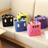 飯盒包手提包防水女手拎便當包飯盒袋便當盒