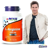 NOW 健而婷 一氧化氮-精胺酸膠囊食品(100顆/瓶)