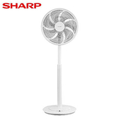 SHARP夏普 14吋 DC節能立扇PJ-S14GB【愛買】