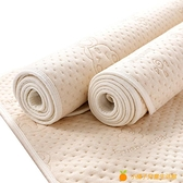 彩棉隔尿墊嬰兒防水可洗透氣大號超大兒童寶寶隔夜床墊床單表純棉【小橘子】