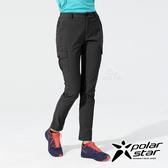 PolarStar 女 彈性抗UV休閒長褲『黑』P20354 戶外│露營│釣魚│休閒褲│釣魚褲│登山褲│耐磨褲