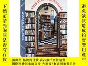 二手書博民逛書店This罕見Is My Bookstore Chronicle Books 英文原版 這是我的書店 100張明信片