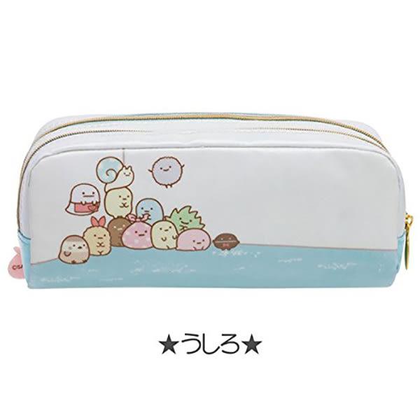 角落生物 雙層 鉛筆盒 鉛筆袋 收納袋 Sumikko Gurash 日本正版 該該貝比日本精品 ☆