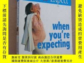二手書博民逛書店What罕見to expect when you re exp