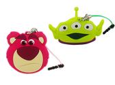 【卡漫城】 玩具總動員 防塵塞 & 捲線器 兩款選一 ㊣版 熊抱哥三眼怪 Toy Story 耳機夾式集線器