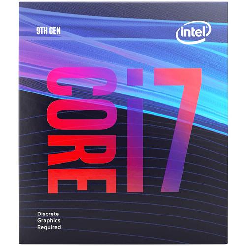 (須搭配獨立顯卡) Intel Core i7-9700F 8核心8執行緒 1151 腳位 CPU 中央處理器