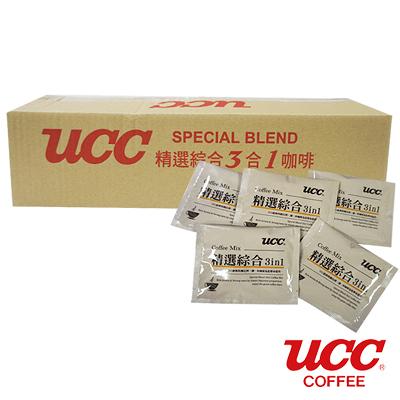 【UCC】精選綜合三合一即溶咖啡 隨身包 16g*100包