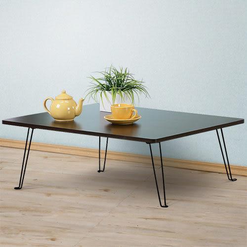 茶几《YoStyle》便利折合和室桌80x60cm 折疊桌 折合桌 休閒桌 (胡桃/純白)