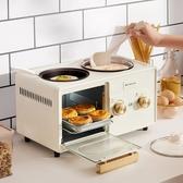 烤土司機 多功能早餐機四合一烤面包機家用烤土司多士爐小型 零度 WJ